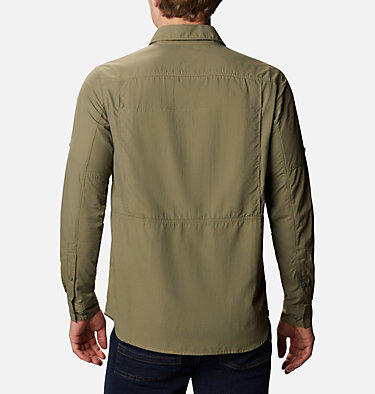 Men's Silver Ridge™ 2.0 Long Sleeve Shirt Silver Ridge™2.0 Long Sleeve Shirt | 449 | XL, Stone Green, back