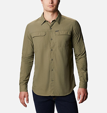 Men's Silver Ridge™ 2.0 Long Sleeve Shirt Silver Ridge™2.0 Long Sleeve Shirt | 397 | S, Stone Green, front