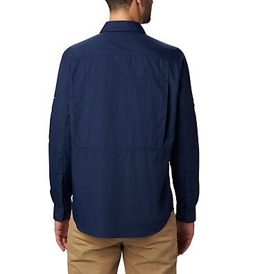 Men's Silver Ridge™ 2.0 Long Sleeve Shirt Silver Ridge™2.0 Long Sleeve Shirt | 397 | S, Collegiate Navy, back