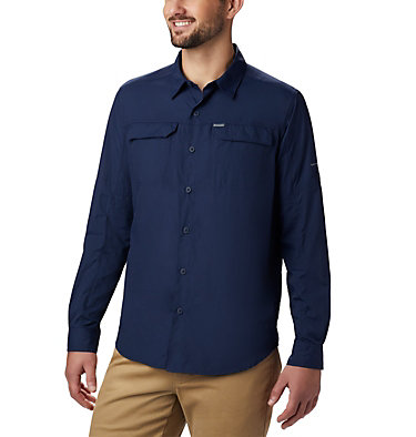 Men's Silver Ridge™ 2.0 Long Sleeve Shirt Silver Ridge™2.0 Long Sleeve Shirt | 397 | S, Collegiate Navy, front