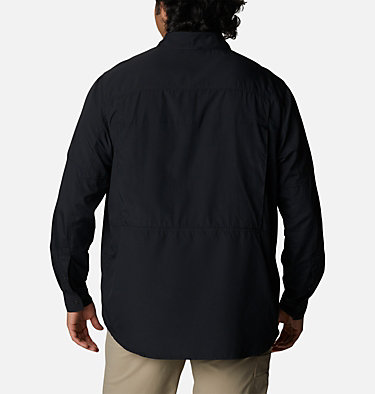 Men's Silver Ridge™ 2.0 Long Sleeve Shirt—Big Silver Ridge™2.0 Long Sleeve Shirt | 449 | 3X, Black, back