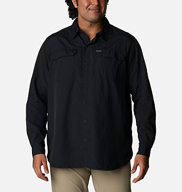 Men's Silver Ridge™ 2.0 Long Sleeve Shirt—Big Silver Ridge™2.0 Long Sleeve Shirt | 449 | 3X, Black, front