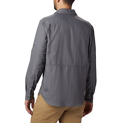 Men's Silver Ridge™ 2.0 Long Sleeve Shirt—Big Silver Ridge™2.0 Long Sleeve Shirt | 449 | 3X, City Grey, back