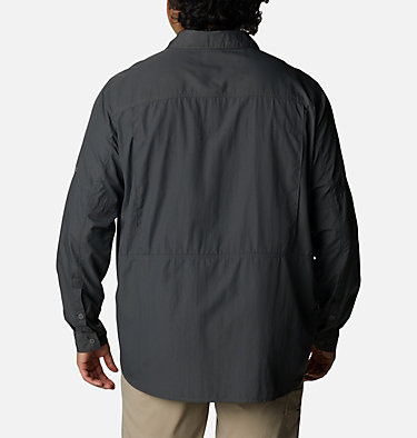 Men's Silver Ridge™2.0 Long Sleeve Shirt – Extended Size Silver Ridge™2.0 Long Sleeve Shirt | 160 | 1X, Grill, back