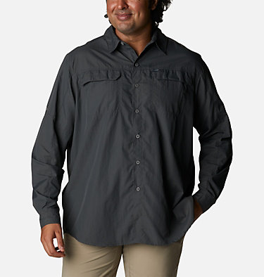 Men's Silver Ridge™2.0 Long Sleeve Shirt – Extended Size Silver Ridge™2.0 Long Sleeve Shirt | 160 | 1X, Grill, front
