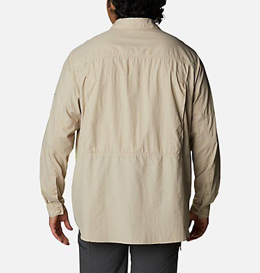 Men's Silver Ridge™2.0 Long Sleeve Shirt – Extended Size Silver Ridge™2.0 Long Sleeve Shirt | 160 | 1X, Fossil, back