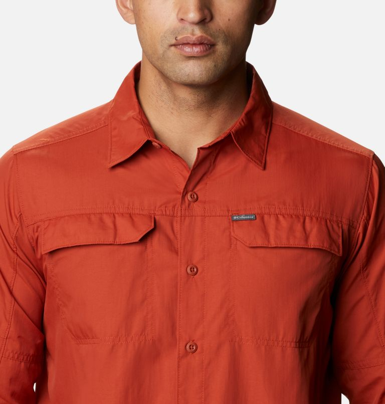 Silver Ridge™2.0 Long Sleeve Shirt   248   2X Men's Silver Ridge™ 2.0 Long Sleeve Shirt—Big, Dark Sienna, a2
