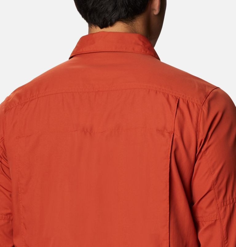 Silver Ridge™2.0 Long Sleeve Shirt   248   2X Men's Silver Ridge™ 2.0 Long Sleeve Shirt—Big, Dark Sienna, a3