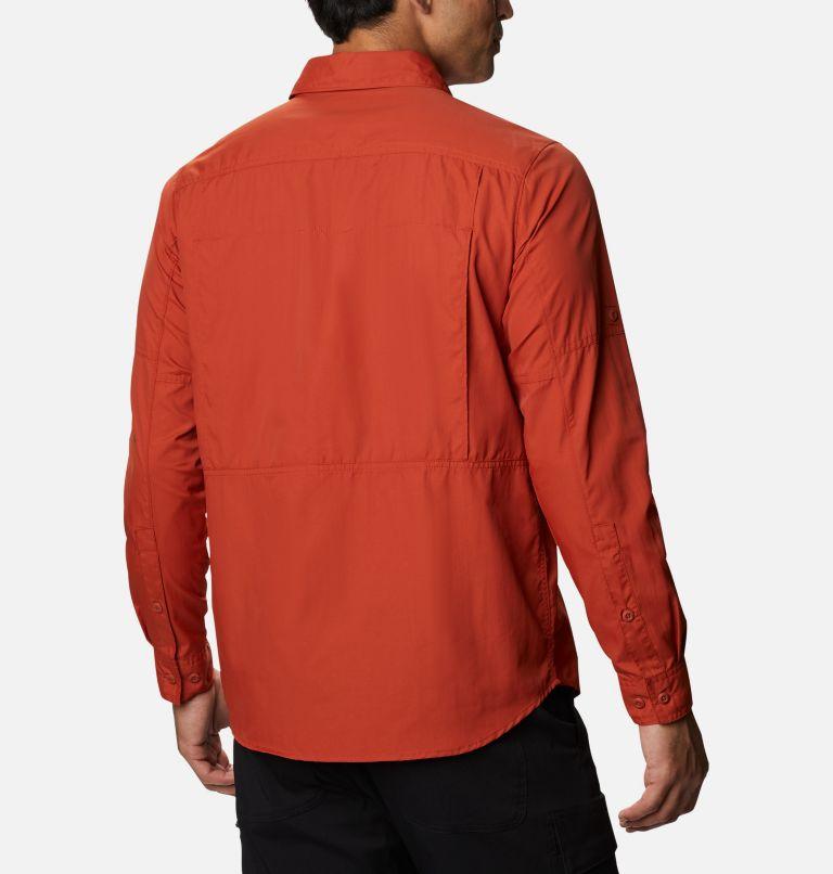Silver Ridge™2.0 Long Sleeve Shirt   248   2X Men's Silver Ridge™ 2.0 Long Sleeve Shirt—Big, Dark Sienna, back