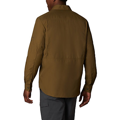 Men's Silver Ridge™ 2.0 Long Sleeve Shirt—Big Silver Ridge™2.0 Long Sleeve Shirt | 449 | 3X, Olive Brown, back