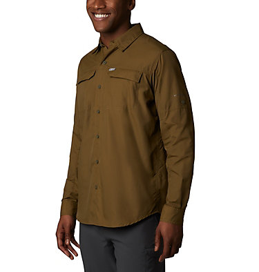 Men's Silver Ridge™ 2.0 Long Sleeve Shirt—Big Silver Ridge™2.0 Long Sleeve Shirt | 449 | 3X, Olive Brown, front