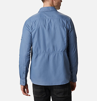 Men's Silver Ridge™ 2.0 Long Sleeve Shirt—Big Silver Ridge™2.0 Long Sleeve Shirt | 449 | 3X, Bluestone, back