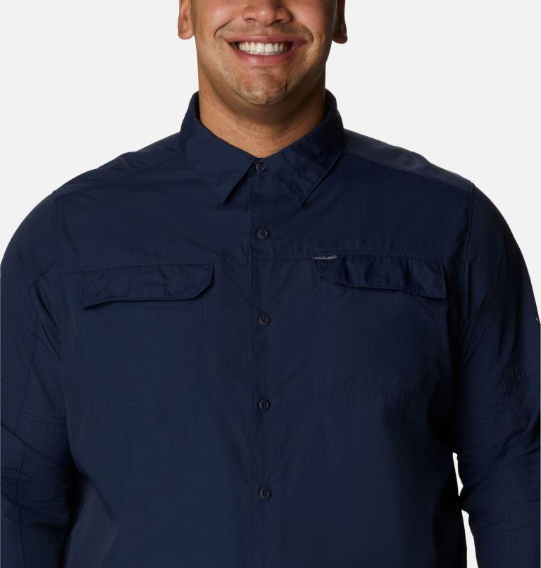 Silver Ridge™2.0 Long Sleeve Shirt | 464 | 3X Men's Silver Ridge™ 2.0 Long Sleeve Shirt—Big, Collegiate Navy, a2