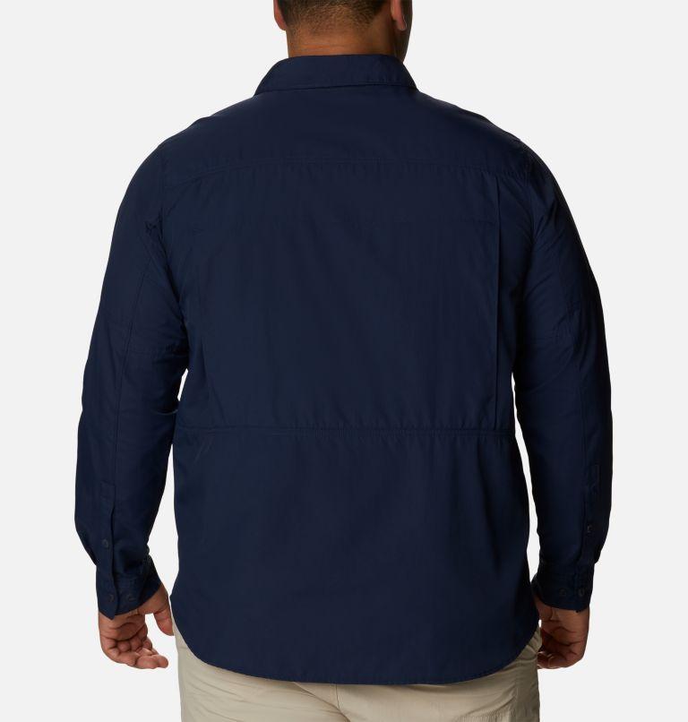 Silver Ridge™2.0 Long Sleeve Shirt | 464 | 3X Men's Silver Ridge™ 2.0 Long Sleeve Shirt—Big, Collegiate Navy, back
