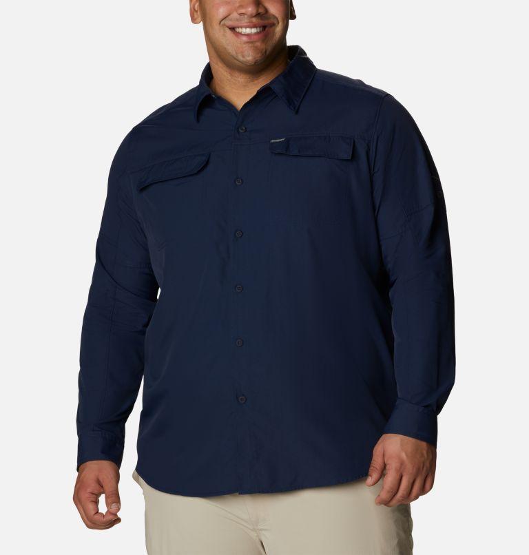 Silver Ridge™2.0 Long Sleeve Shirt | 464 | 3X Men's Silver Ridge™ 2.0 Long Sleeve Shirt—Big, Collegiate Navy, front