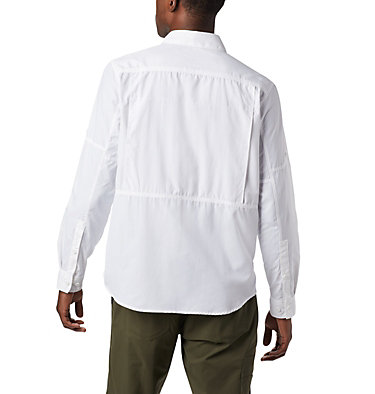Camiseta de manga larga Silver Ridge™ 2.0 para hombre Silver Ridge™2.0 Long Sleeve Shirt | 028 | L, White, back