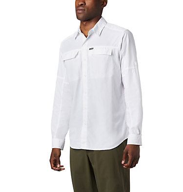 Men's Silver Ridge™2.0 Shirt Silver Ridge™2.0 Long Sleeve Shirt | 028 | L, White, front