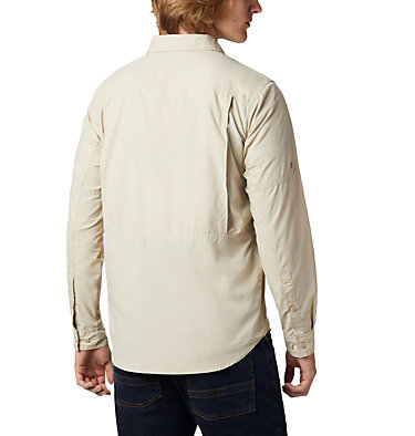Men's Silver Ridge™2.0 Shirt Silver Ridge™2.0 Long Sleeve Shirt | 028 | L, Fossil, back