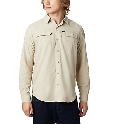 Men's Silver Ridge™2.0 Shirt Silver Ridge™2.0 Long Sleeve Shirt | 028 | L, Fossil, front
