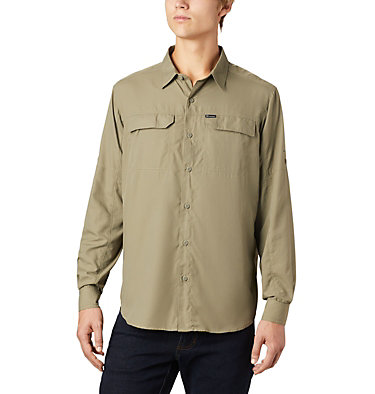 Men's Silver Ridge™2.0 Shirt Silver Ridge™2.0 Long Sleeve Shirt | 028 | L, Sage, front