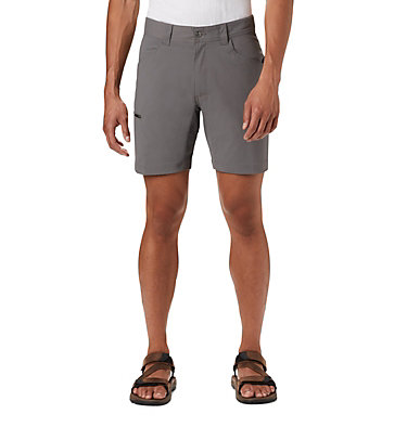 Men's Silver Ridge™ II Stretch Shorts - Big Silver Ridge™ II Stretch Short | 010 | 44, City Grey, front