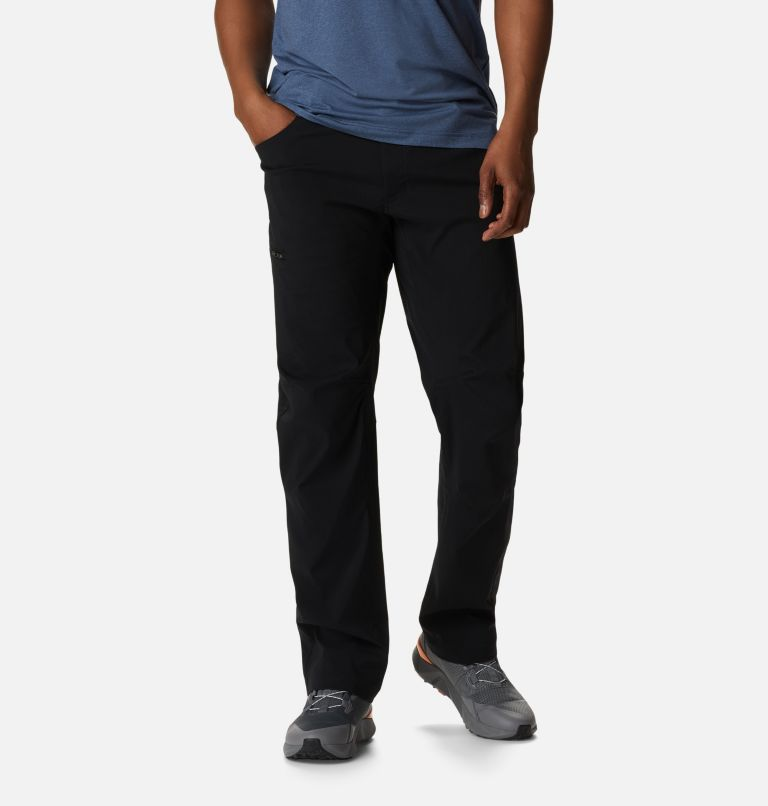 Silver Ridge™ II Stretch Pant | 010 | 42 Men's Silver Ridge™ II Stretch Pants, Black, front
