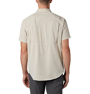 Chemise à manches courtes Twisted Creek™ II pour homme Twisted Creek™ II Short Sleeve Shirt | 362 | L, Tusk Stripe, back