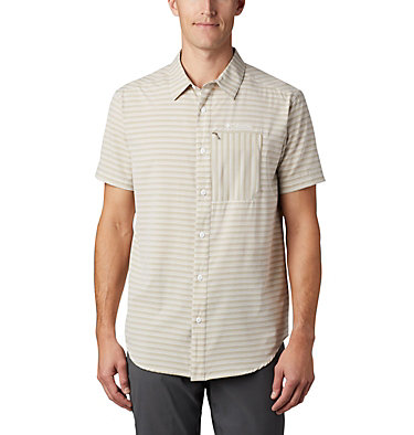 Chemise à manches courtes Twisted Creek™ II pour homme Twisted Creek™ II Short Sleeve Shirt | 362 | L, Tusk Stripe, front