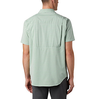 Chemise à manches courtes Twisted Creek™ II pour homme Twisted Creek™ II Short Sleeve Shirt | 362 | L, True Green Stripe, back