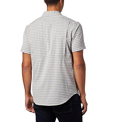 Men's Twisted Creek™ II Short Sleeve Shirt – Big Twisted Creek™ II Short Sleeve Shirt | 362 | 1X, Black Stripe, back