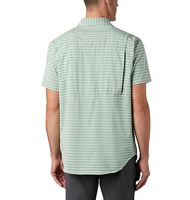 Men's Twisted Creek™ II Short Sleeve Shirt – Big Twisted Creek™ II Short Sleeve Shirt | 362 | 1X, True Green Stripe, back