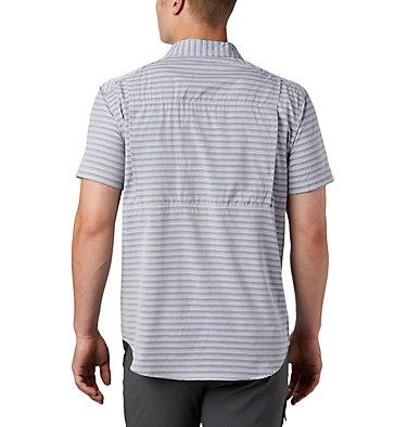 Men's Twisted Creek™ II Short Sleeve Shirt – Big Twisted Creek™ II Short Sleeve Shirt | 362 | 1X, Collegiate Navy Stripe, back