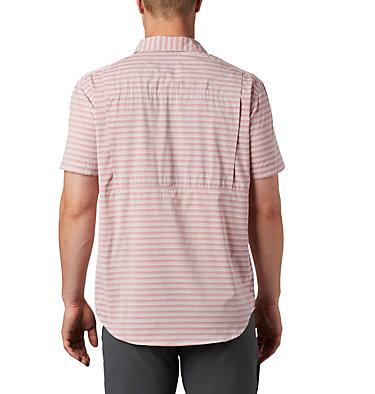 Men's Twisted Creek™ II Short Sleeve Shirt – Big Twisted Creek™ II Short Sleeve Shirt | 362 | 1X, Red Jasper Stripe, back