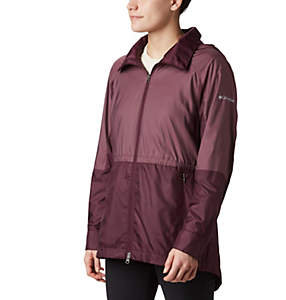 Women's Sustina Springs™ Long Lined Windbreaker