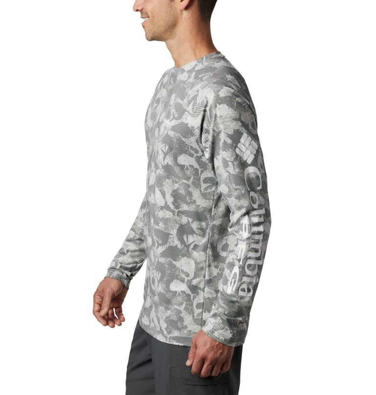 Men's PFG Terminal Deflector™ Printed Long Sleeve Shirt Men's PFG Terminal Deflector™ Printed Long Sleeve Shirt, a1