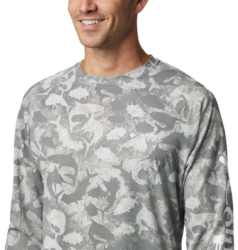 Men's PFG Terminal Deflector™ Printed Long Sleeve Shirt Men's PFG Terminal Deflector™ Printed Long Sleeve Shirt, a2