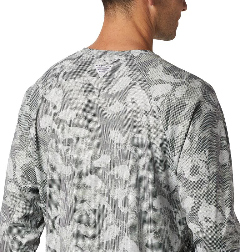 Men's PFG Terminal Deflector™ Printed Long Sleeve Shirt Men's PFG Terminal Deflector™ Printed Long Sleeve Shirt, a3