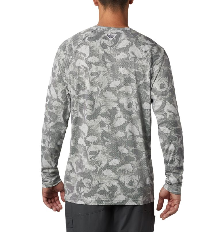 Men's PFG Terminal Deflector™ Printed Long Sleeve Shirt Men's PFG Terminal Deflector™ Printed Long Sleeve Shirt, back