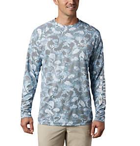 Chemise à manches longues imprimée Terminal Deflector™ pour homme