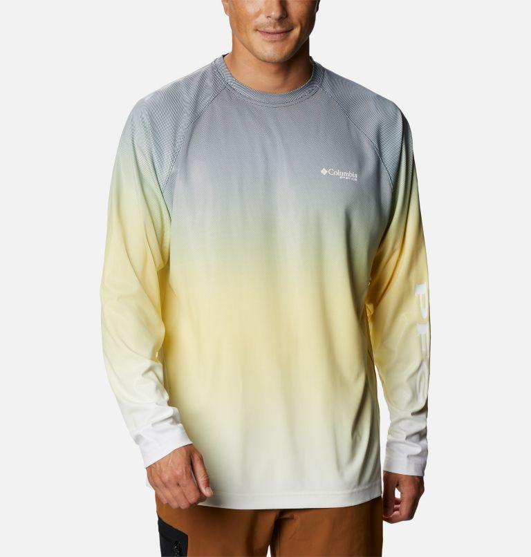 Men's PFG Terminal Deflector™ Printed Long Sleeve Shirt Men's PFG Terminal Deflector™ Printed Long Sleeve Shirt, front