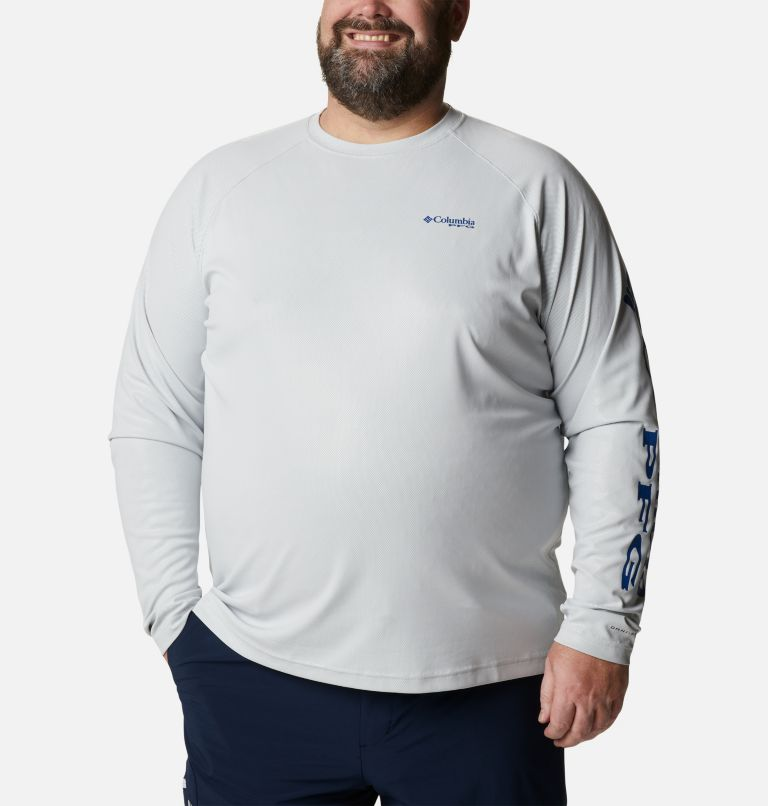 Men's PFG Terminal Deflector™ Long Sleeve Shirt - Big Men's PFG Terminal Deflector™ Long Sleeve Shirt - Big, front