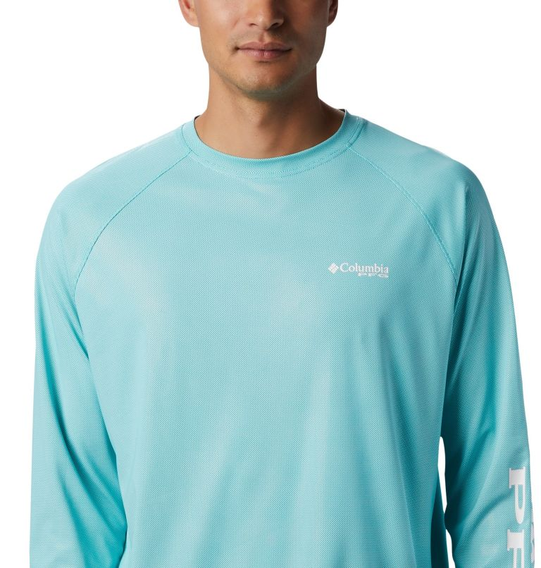 Men's PFG Terminal Deflector™ Long Sleeve Shirt - Big Men's PFG Terminal Deflector™ Long Sleeve Shirt - Big, a1