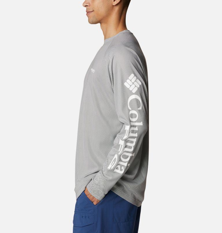 Terminal Deflector™ LS | 024 | 4XT Men's PFG Terminal Deflector™ Long Sleeve Shirt - Tall, City Grey, White, a1