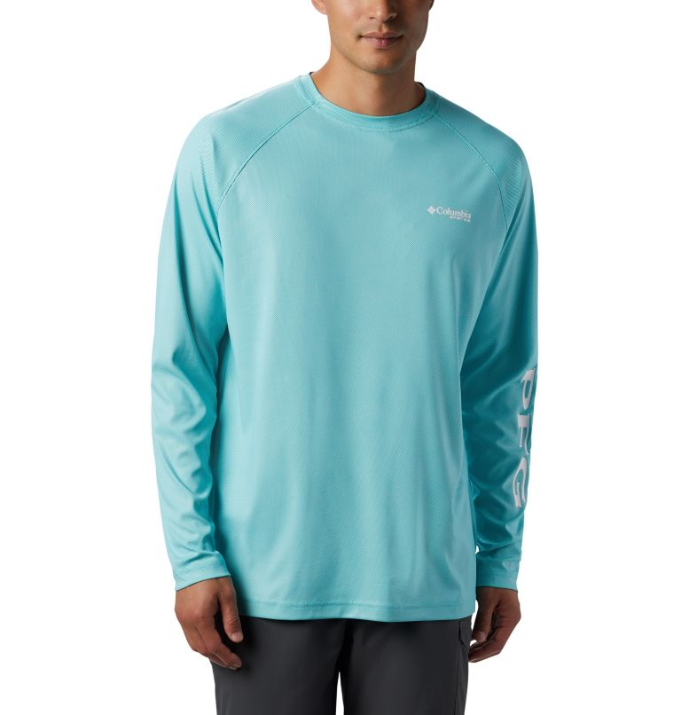 Men's PFG Terminal Deflector™ Long Sleeve Shirt - Tall Men's PFG Terminal Deflector™ Long Sleeve Shirt - Tall, front