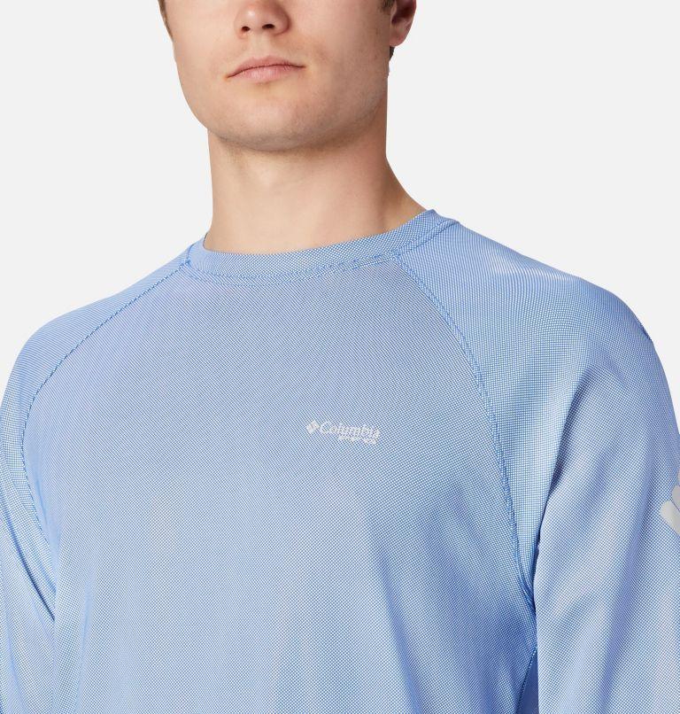 Terminal Deflector™ LS | 487 | 4XT Men's PFG Terminal Deflector™ Long Sleeve Shirt - Tall, Vivid Blue, Cool Grey, a3