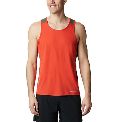 Men's Titan Ultra™ Running Tank Titan Ultra™ Running Tank | 403 | L, Wildfire, front