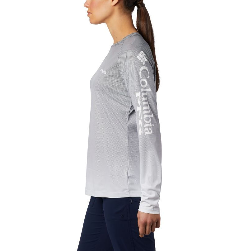 Tidal Deflector™ Long Sleeve | 010 | M Women's PFG Tidal Deflector™ Long Sleeve Shirt, Black Fade, a1