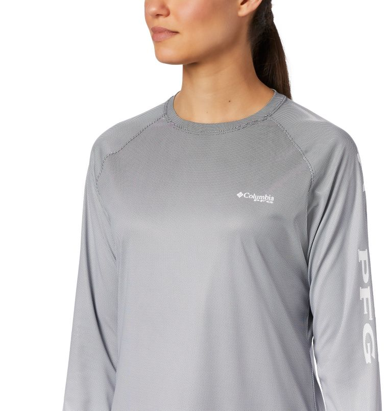 Tidal Deflector™ Long Sleeve | 010 | M Women's PFG Tidal Deflector™ Long Sleeve Shirt, Black Fade, a2