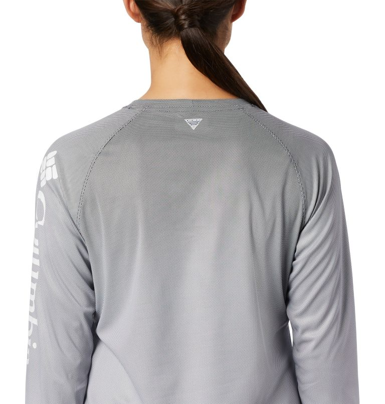 Tidal Deflector™ Long Sleeve | 010 | M Women's PFG Tidal Deflector™ Long Sleeve Shirt, Black Fade, a3