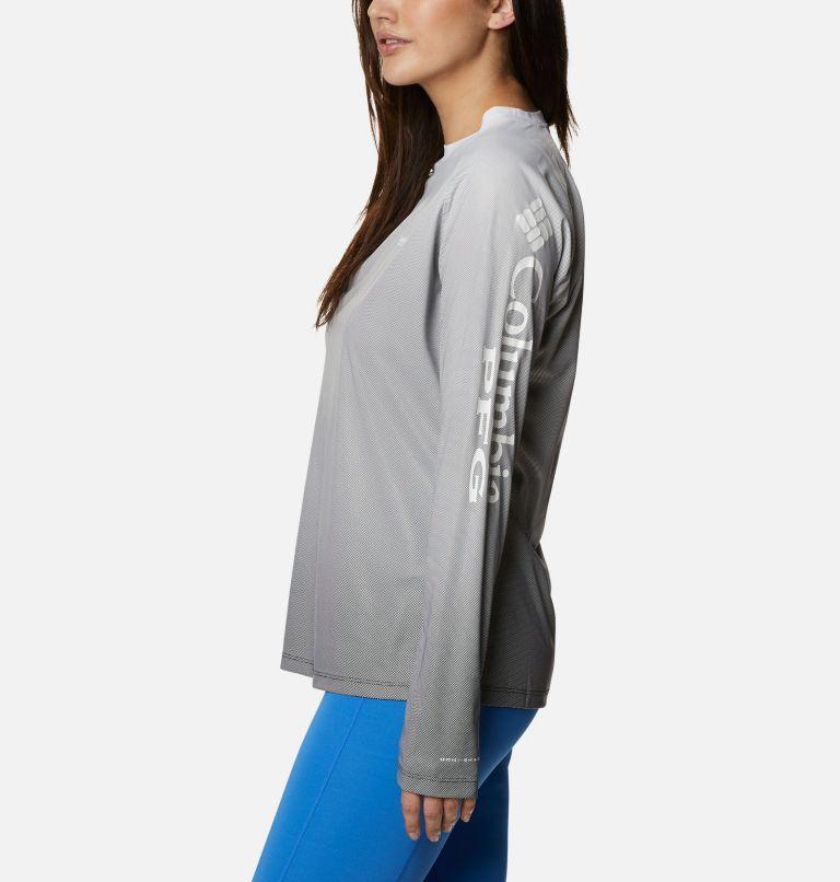 Tidal Deflector™ Long Sleeve | 011 | L Women's PFG Tidal Deflector™ Long Sleeve Shirt, Black Gradient, a1